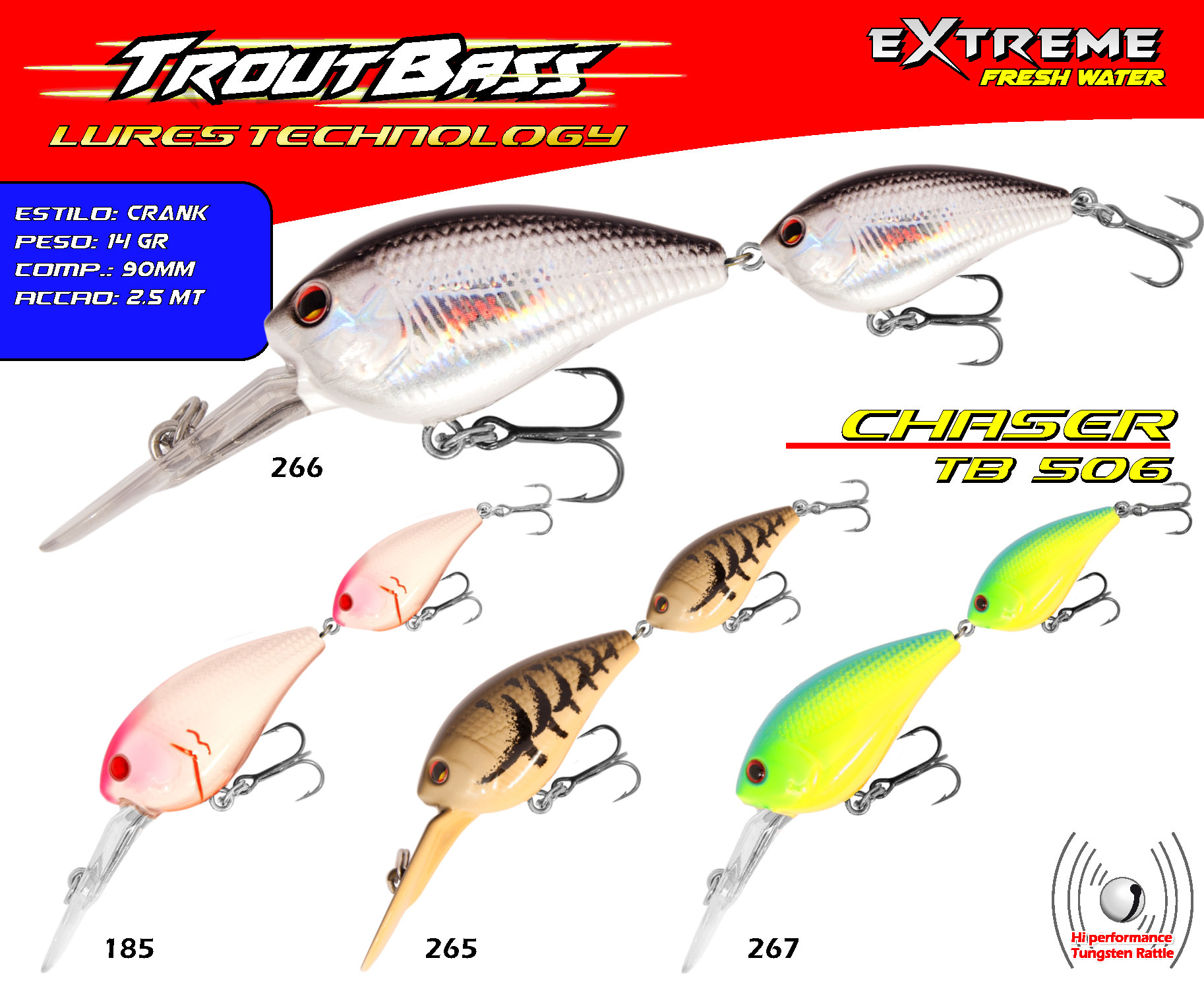 Troutbass Chaser TB 506