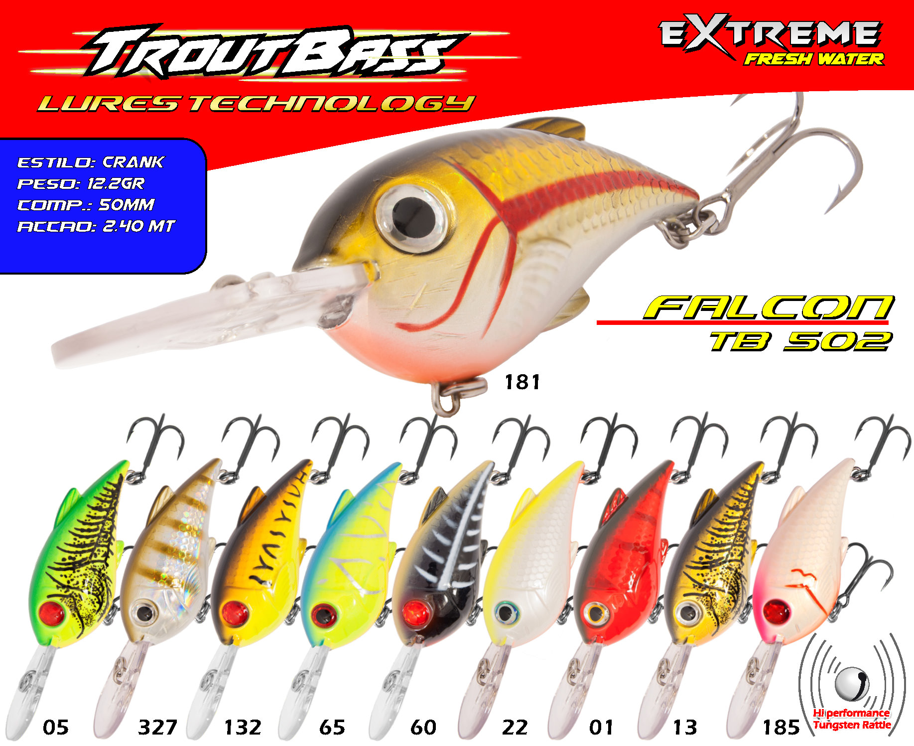 Troutbass Falcon TB 502