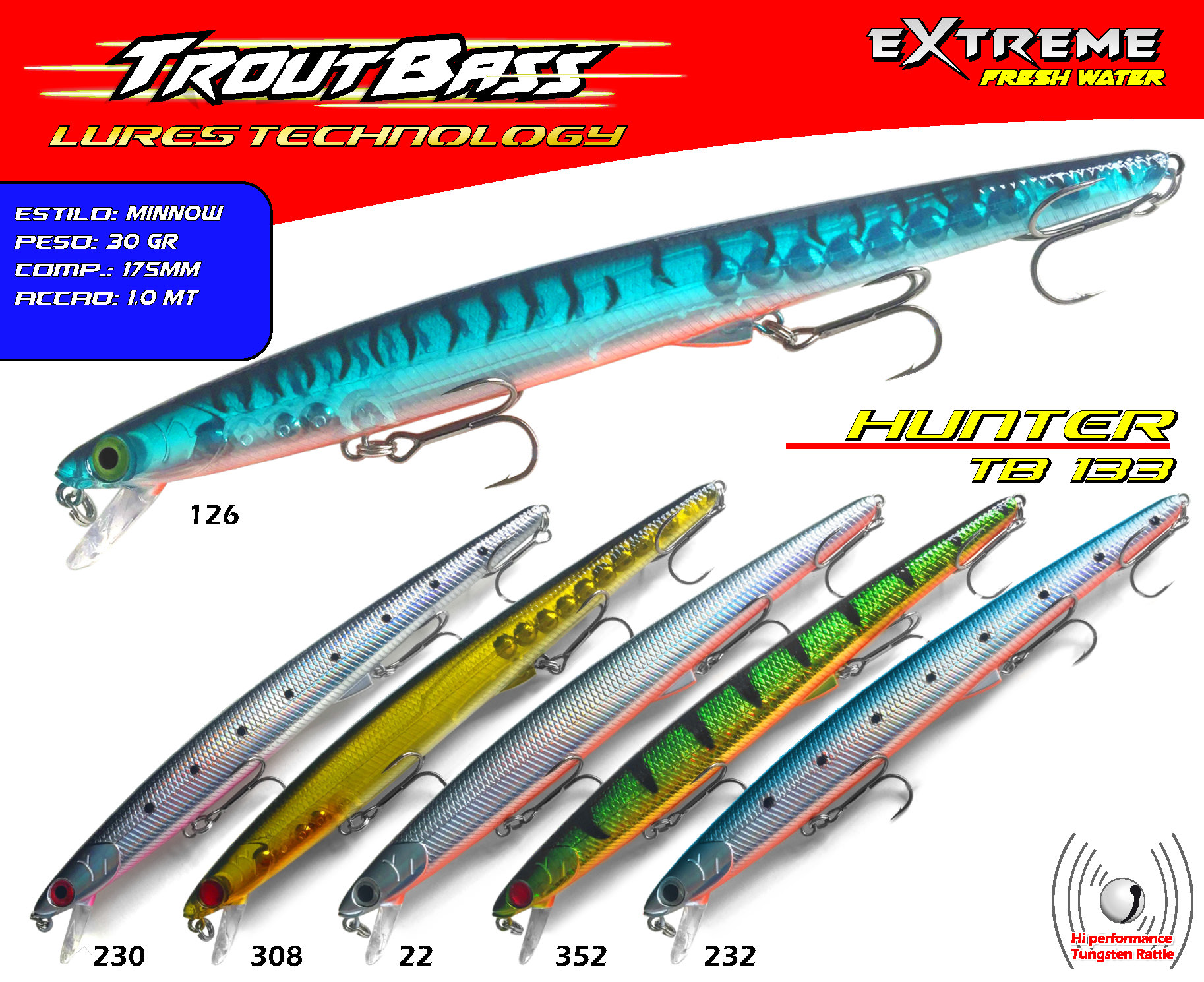Troutbass Hunter TB 133