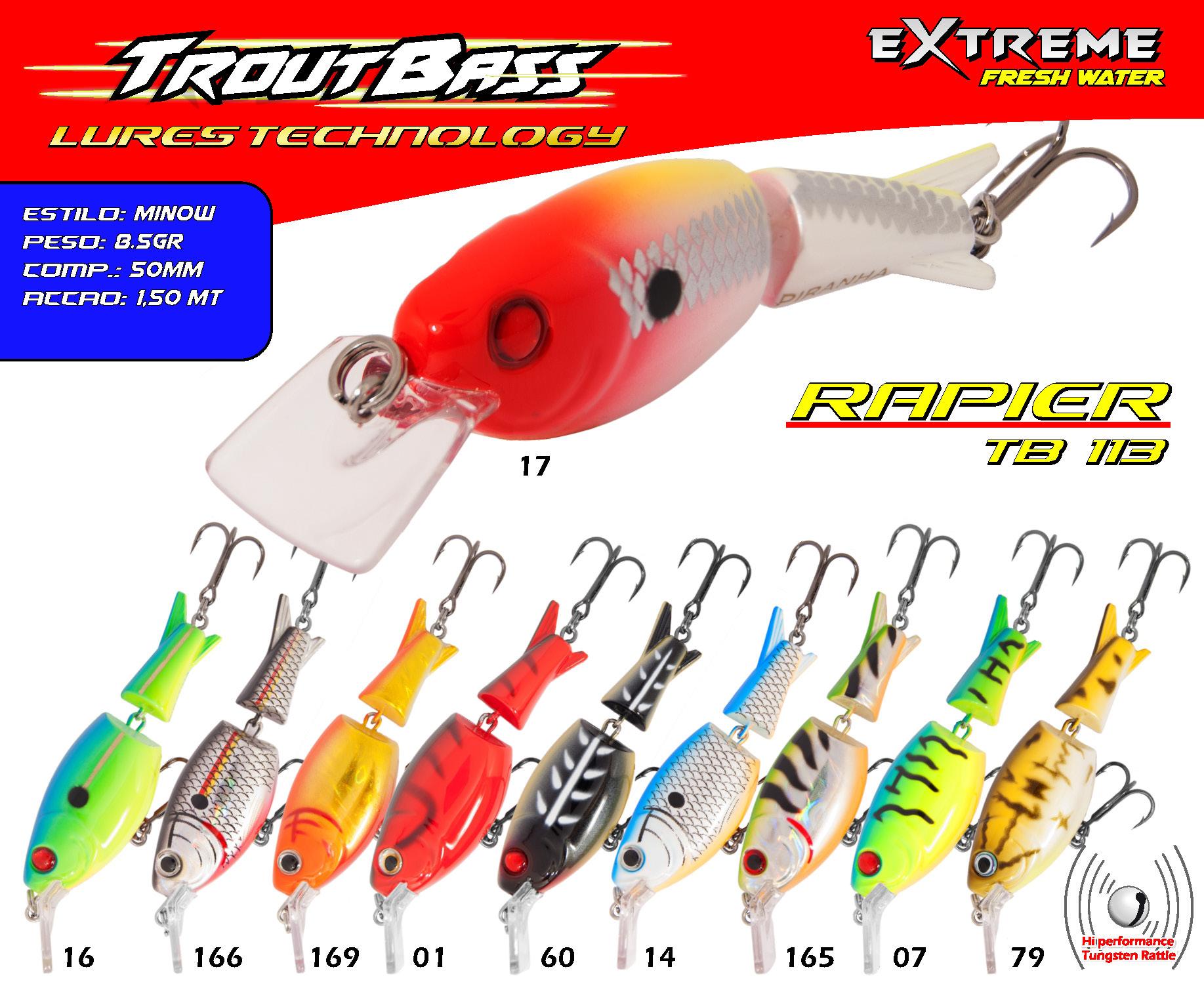 Troutbass Rapier TB 113