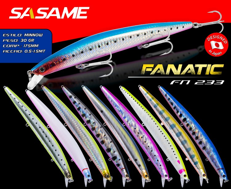 Sasame Fanatic Lures