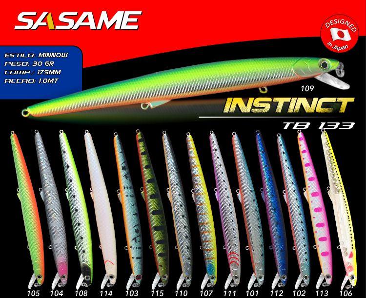 Amostra SASAME INSTINCT 175mm